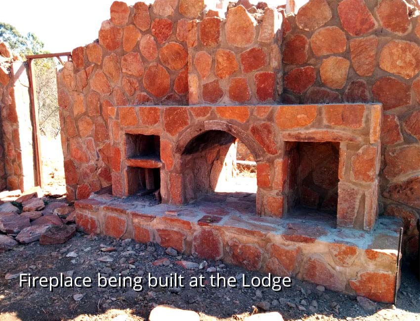Lodge Under Construction